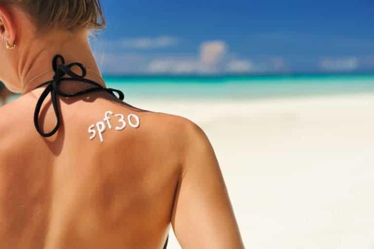 Sunscreen lotion SPF