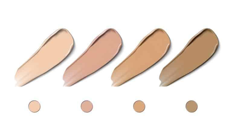 Cosmetic smear strokes